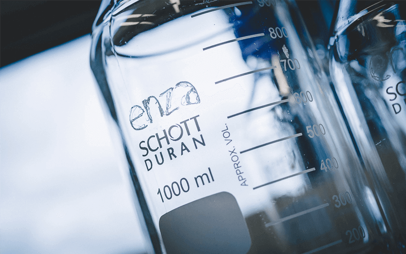 Enza Biotech är ett nytt och modernt bioteknik företag i Lund. De har tagit fram ett patent för att tillverka biobaserade byggstenar till stora företag inom kosmetika-branschen för att undvika fossila material.